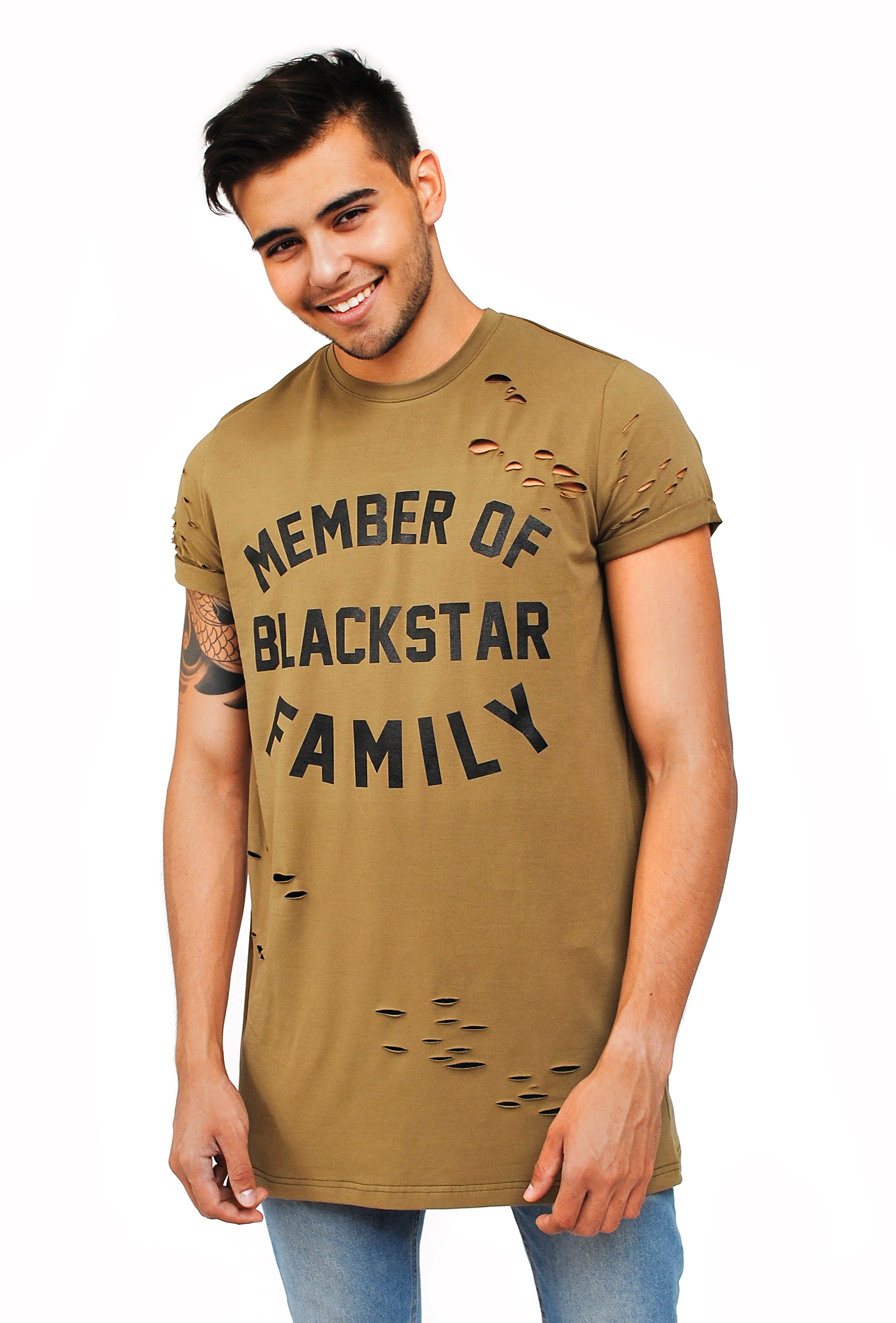 Mens t-shirt Member of BS family от BlackStarWear INT