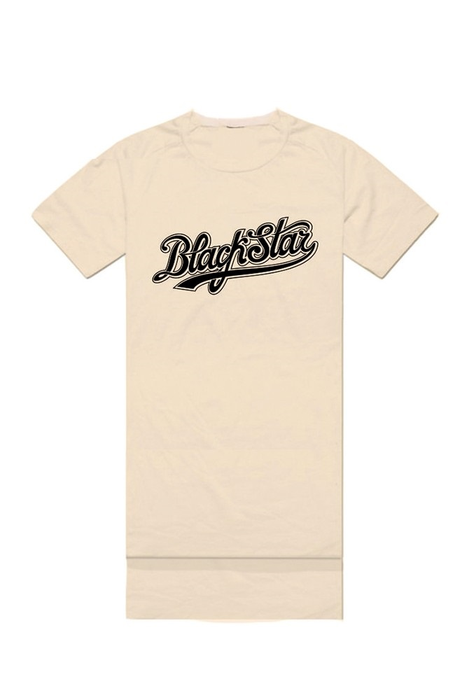 Womens t-shirt ClassicUndershirts and T-shirts<br>Womens oversize t-shirt with Black Star print on the chest. You can wear it with shorts, leggings, jeans or by itself. O-neck, cuts on sides, long back. Avaliable in white and beige.<br><br>size: L<br>color: Beige<br>gender: female