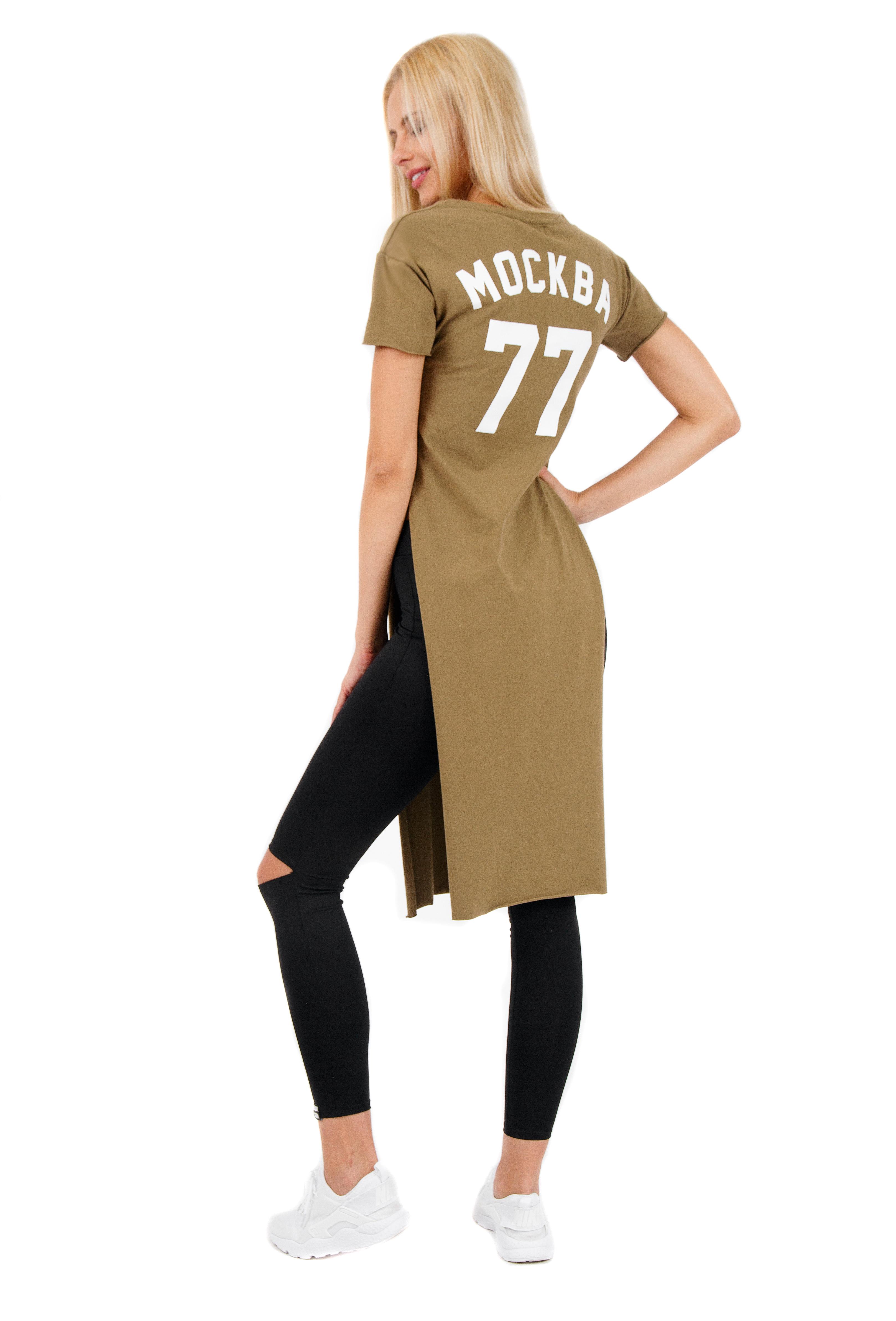 Womens tunic Moscow 77 от BlackStarWear INT