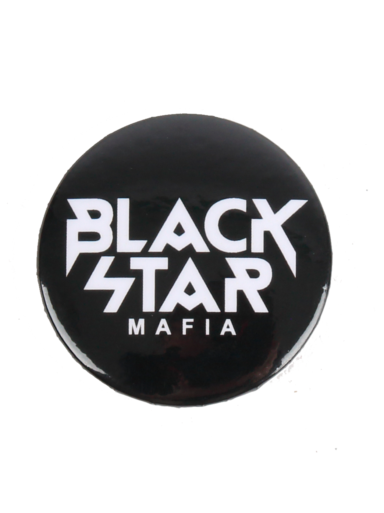 Badge BLACK STAR MAFIABlack Star Mafia badge with a safety pin. 38mm diameter. Mix the badges to find your perfect set! Style in the details;)<br><br>size: One size<br>color: Black<br>gender: unisex