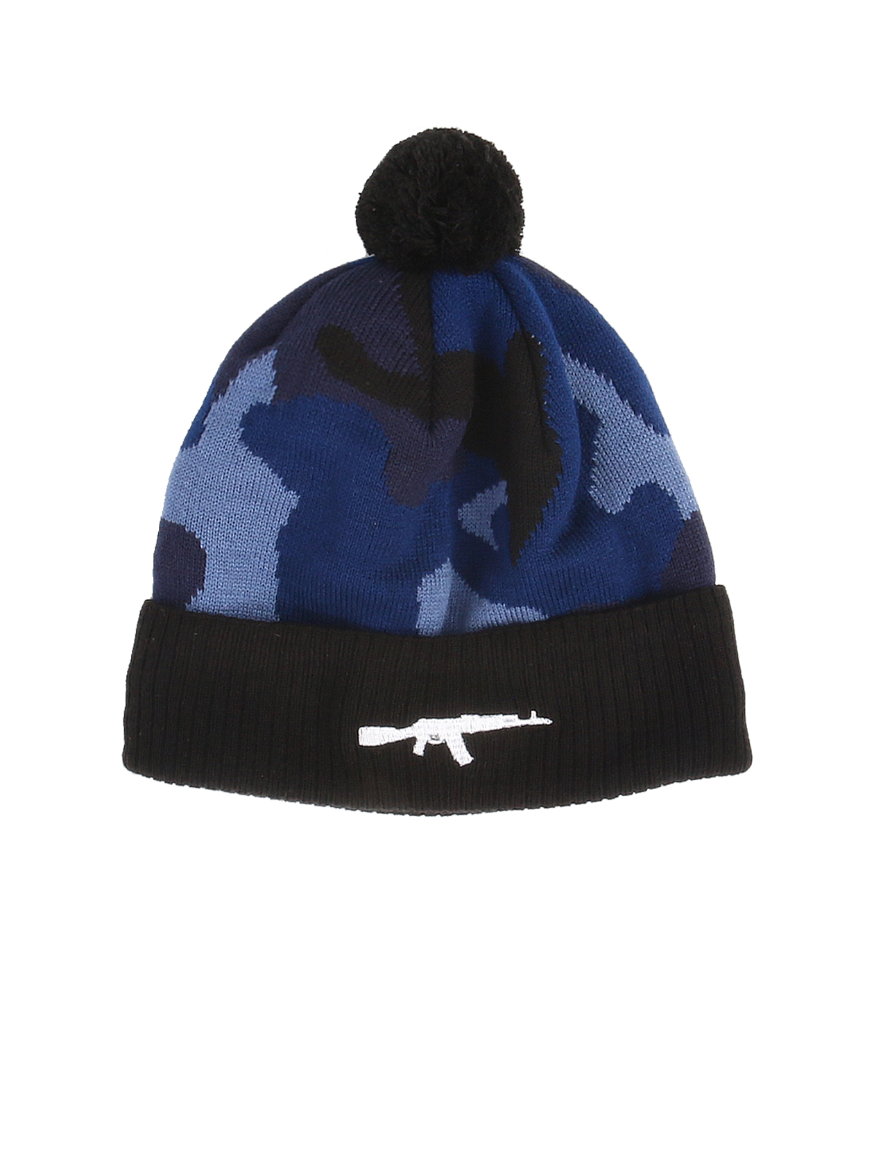 Unisex hat Blue Camo Rifle