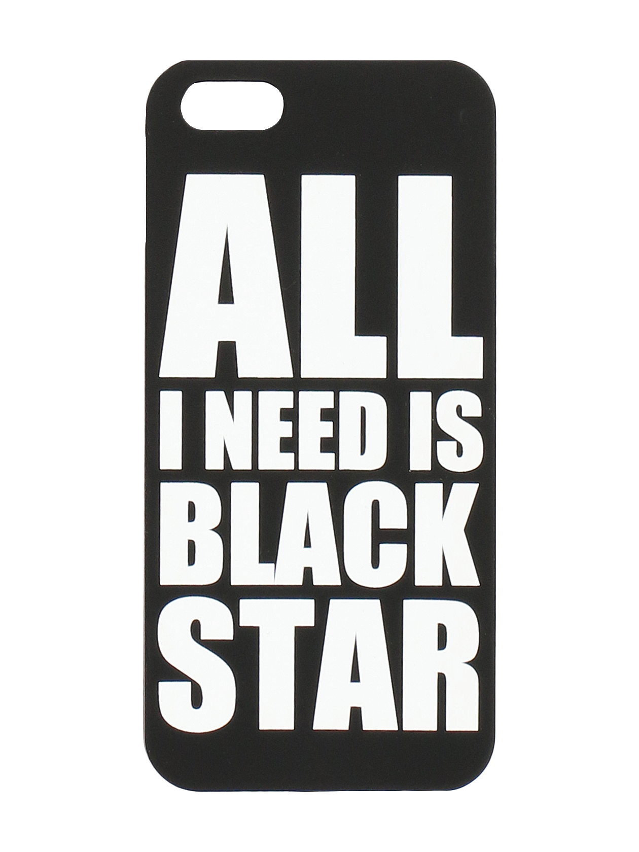 IPHONE CASE 5/6/6+ All I Need Is Black Star