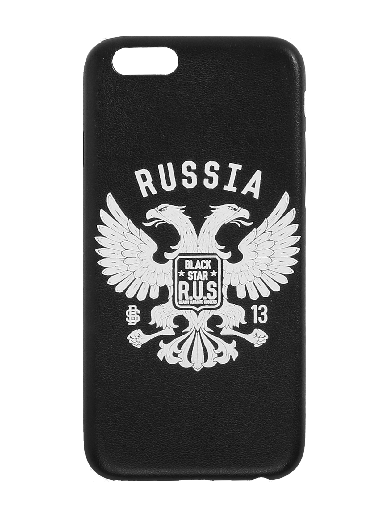 IPHONE CASE 5/6/6+ GERBIphone plastic hard case by Black Star Wear. Printed wih two-headed eagle. Solid protection and direct access to all device features.<br><br>size: 6<br>color: Black<br>gender: unisex