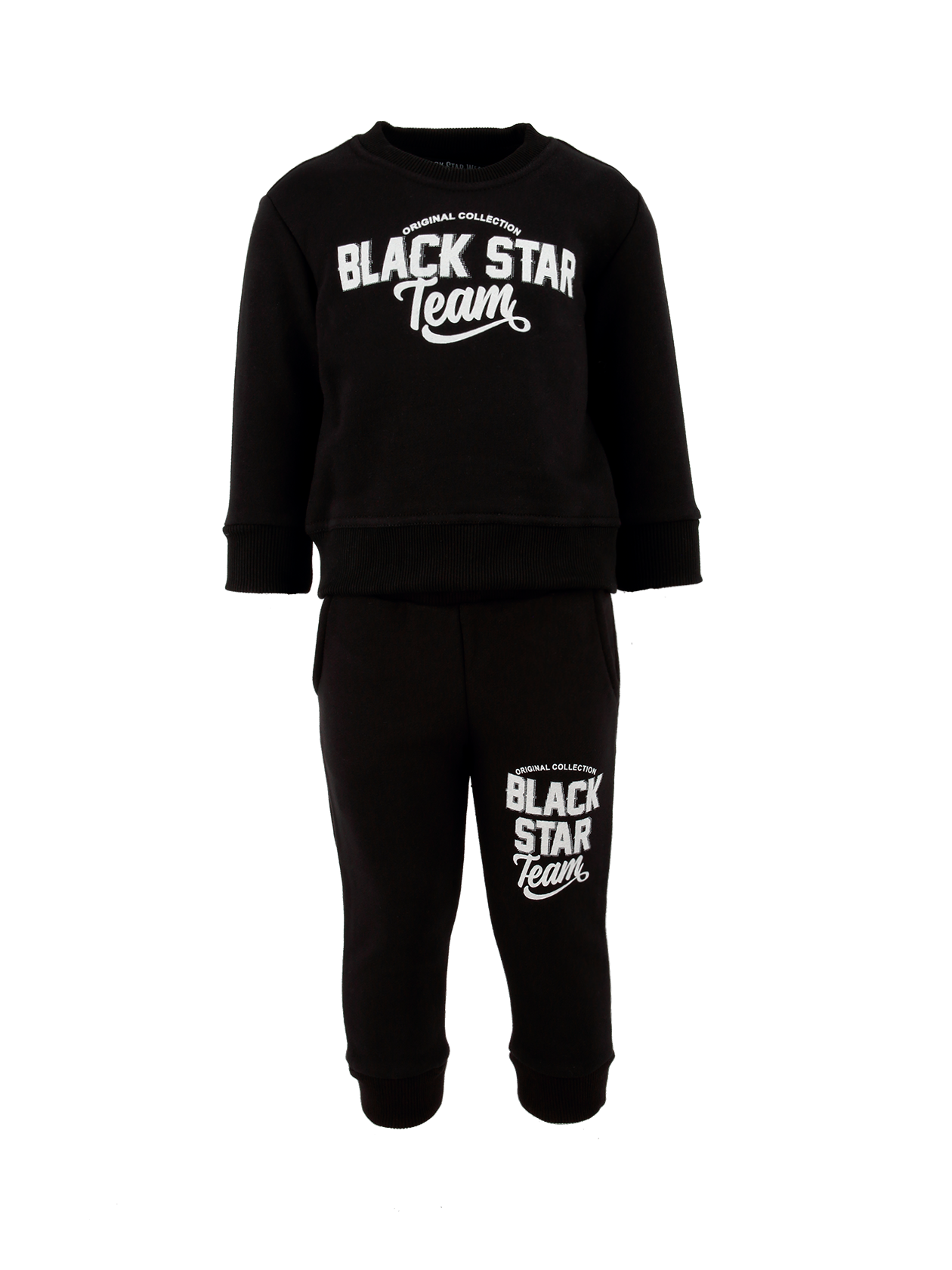 Kid's sportsuit Black Star Team