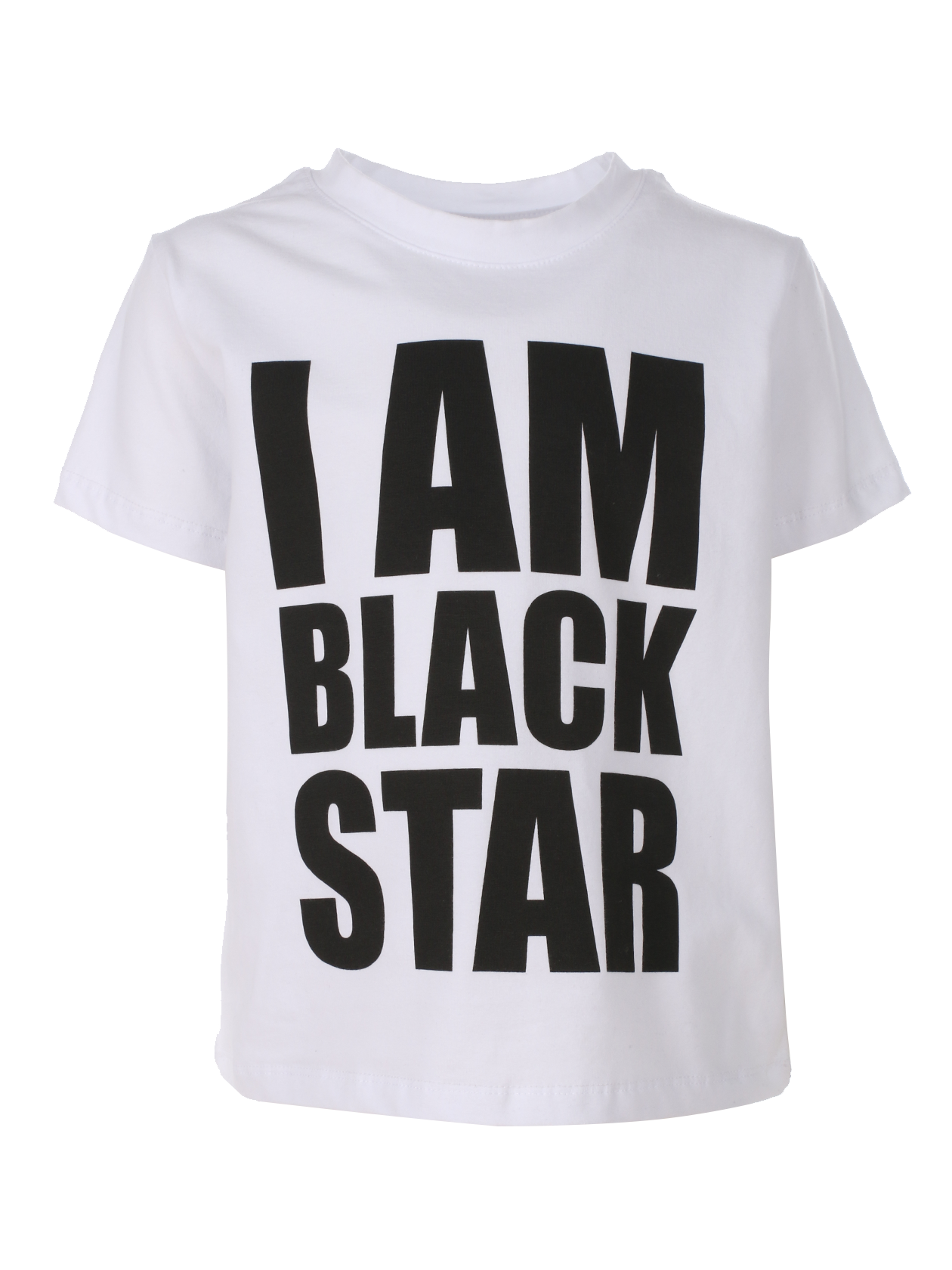 Kids t-shirt I AM BLACK STAR