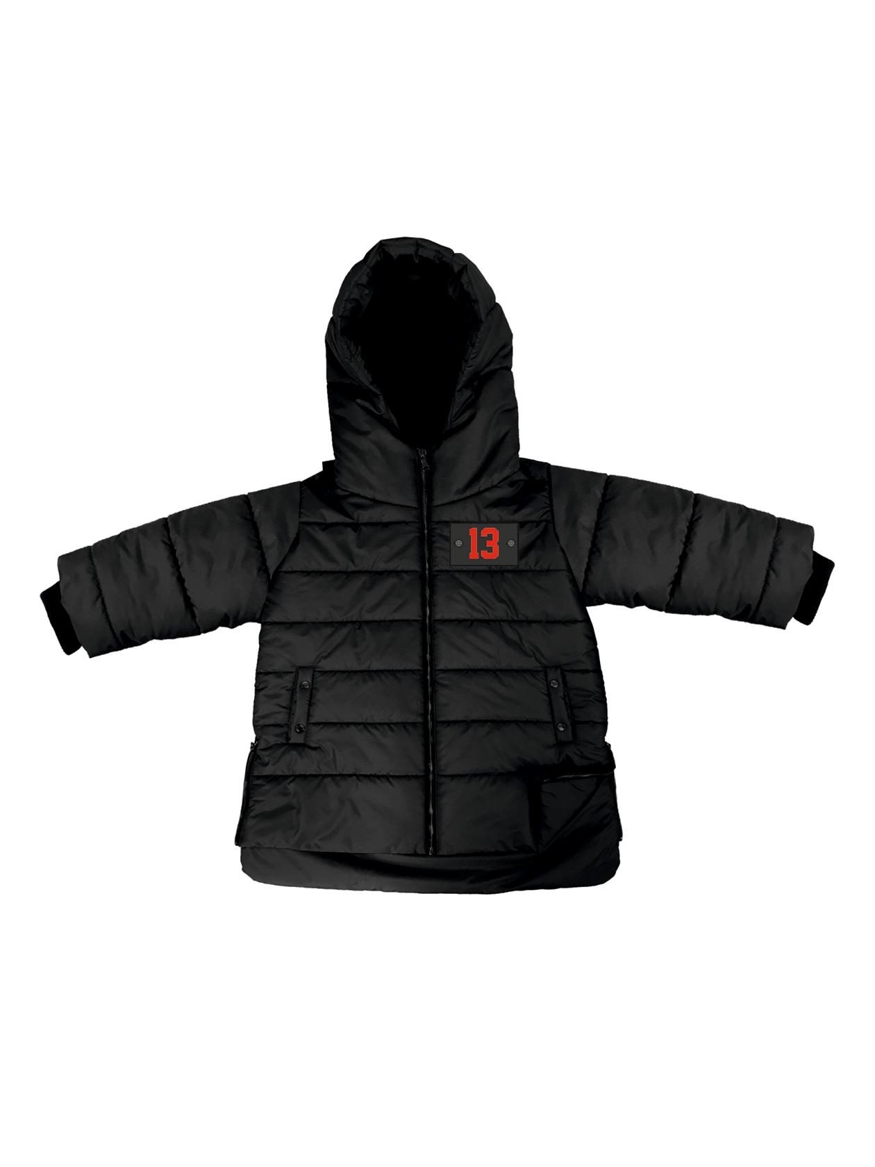 Kids down jacket Black Horizon