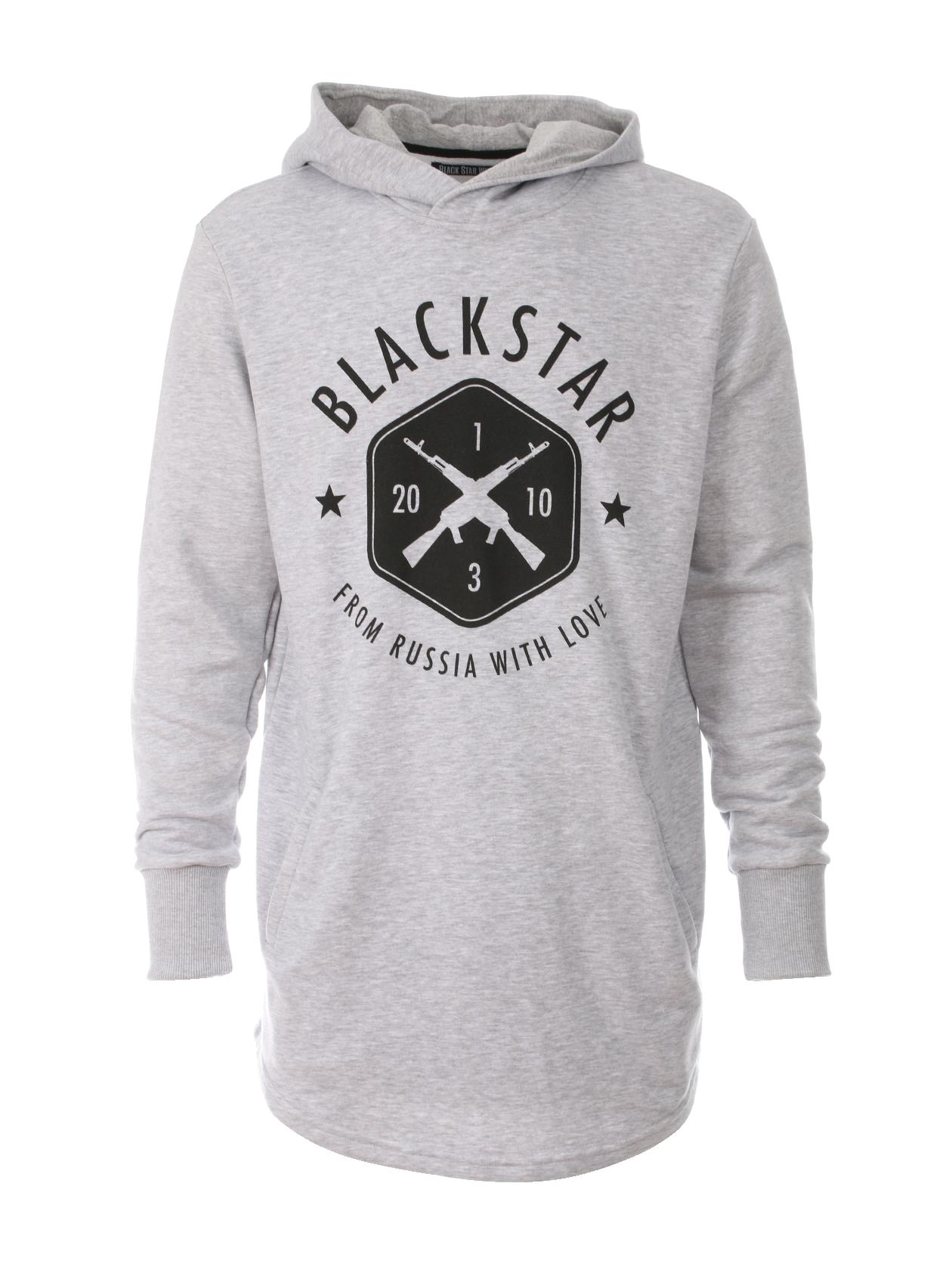 Mens hoodie BLACK + STAR