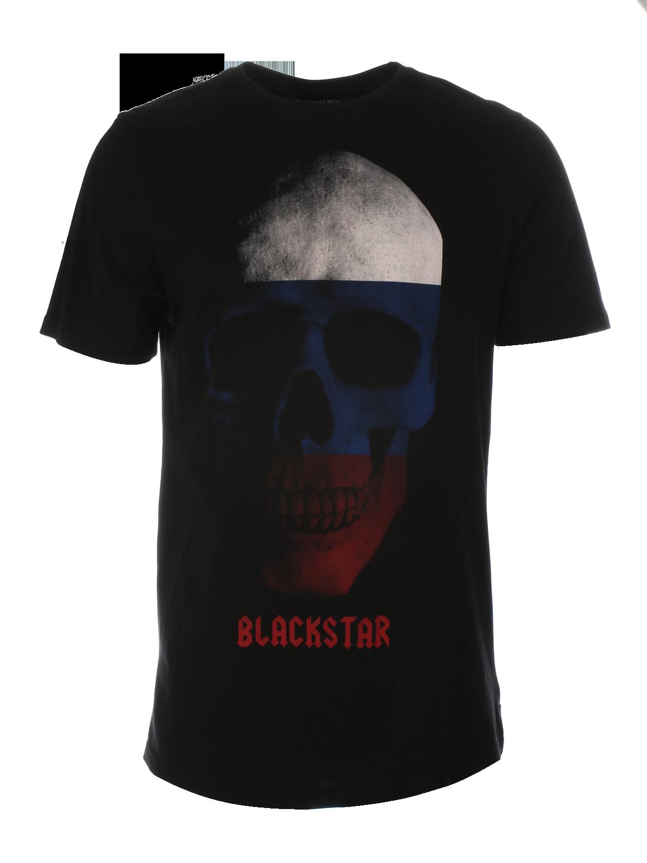 Mens t-shirt Skull Flag от BlackStarWear INT