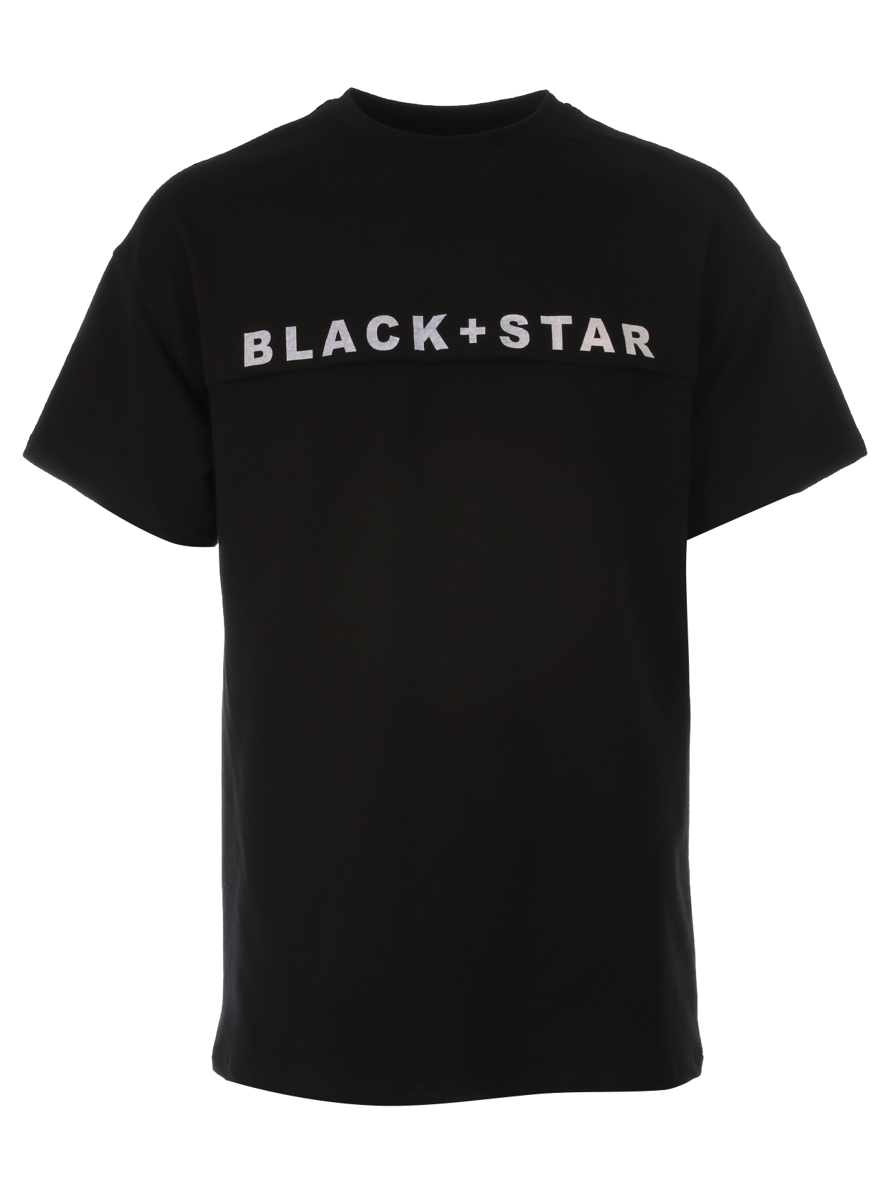 Mens t-shirt BLACK + STARMens basic t-shirt by Black Star Wear. Loose fit, round neck. High quality cotton tissue to give you maximum comfort, this t-shirt will become one of you favorite basic garments. Decorative element with Black Star print on the chest. Availiable in black and beige.<br><br>size: M<br>color: Black<br>gender: male