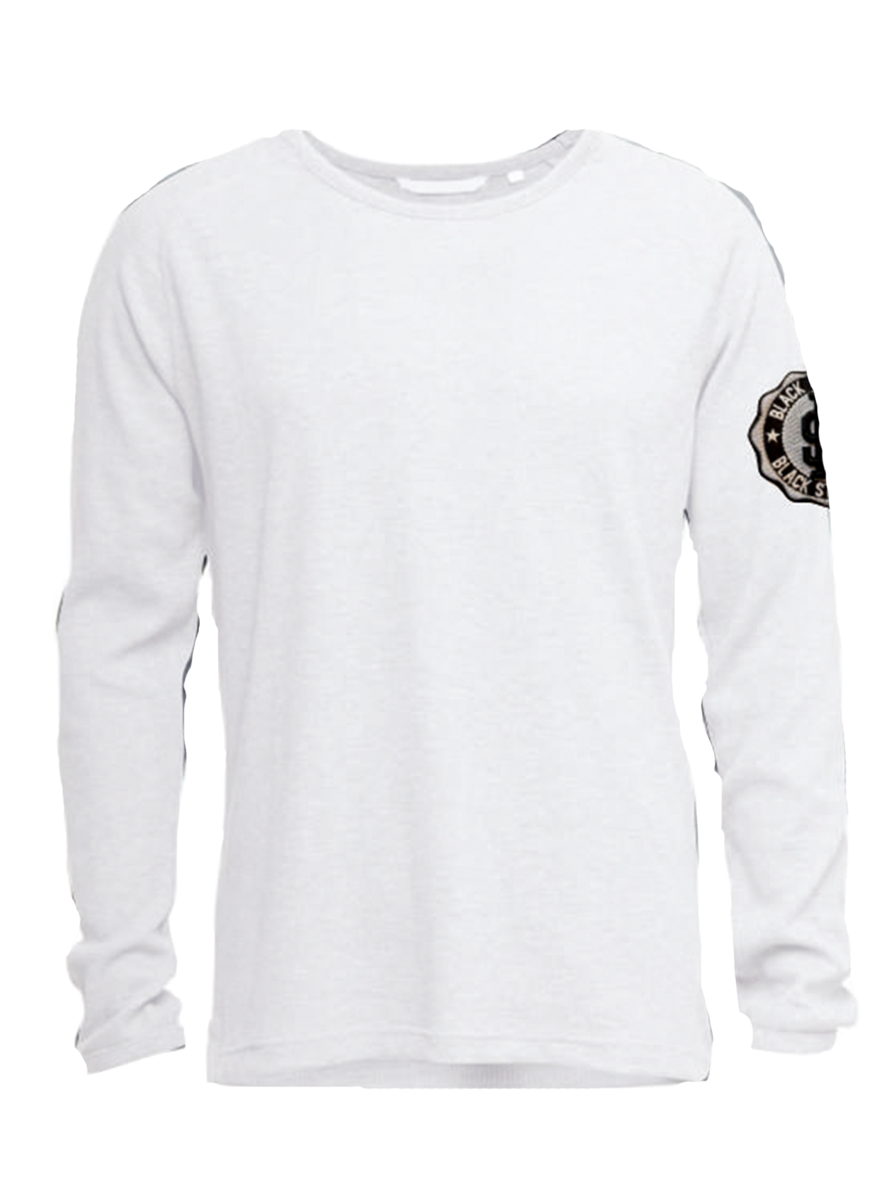 Mens long sleeve t-shirt Stone<br><br>size: M<br>color: White<br>gender: male