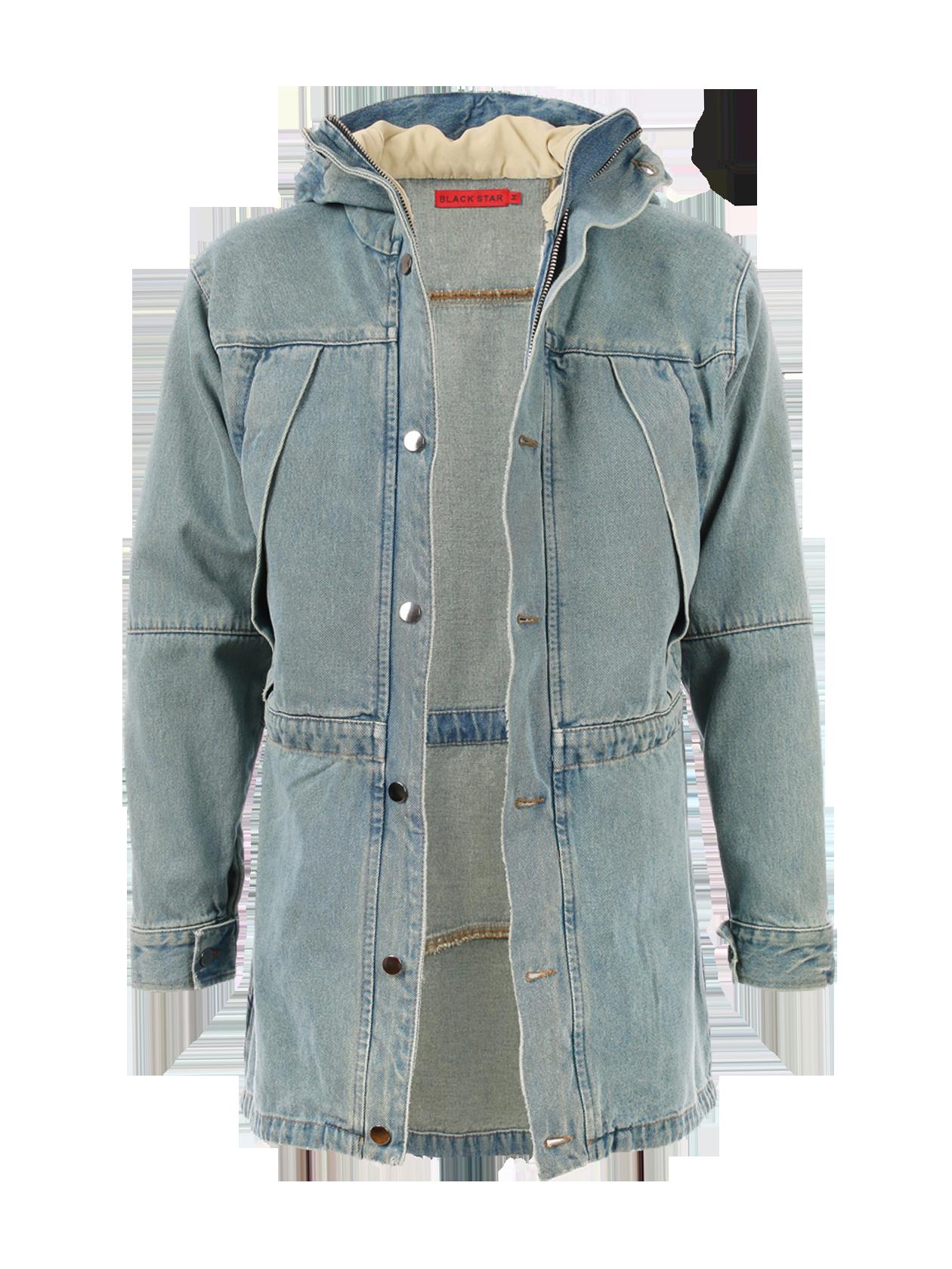 Unisex jeans jacket 13Куртка джинсовая унисекс из капсульной коллекции Тимати 13. Классический крой, длина до середины бедра. Модель с капюшоном на подкладке, застёгивается на молнию и пуговицы. Нагрудные карманы на змейке под клапанами. На талии и по нижнему краю шнурки, регулирующие плотность прилегания.<br><br>size: L<br>color: Blue<br>gender: female