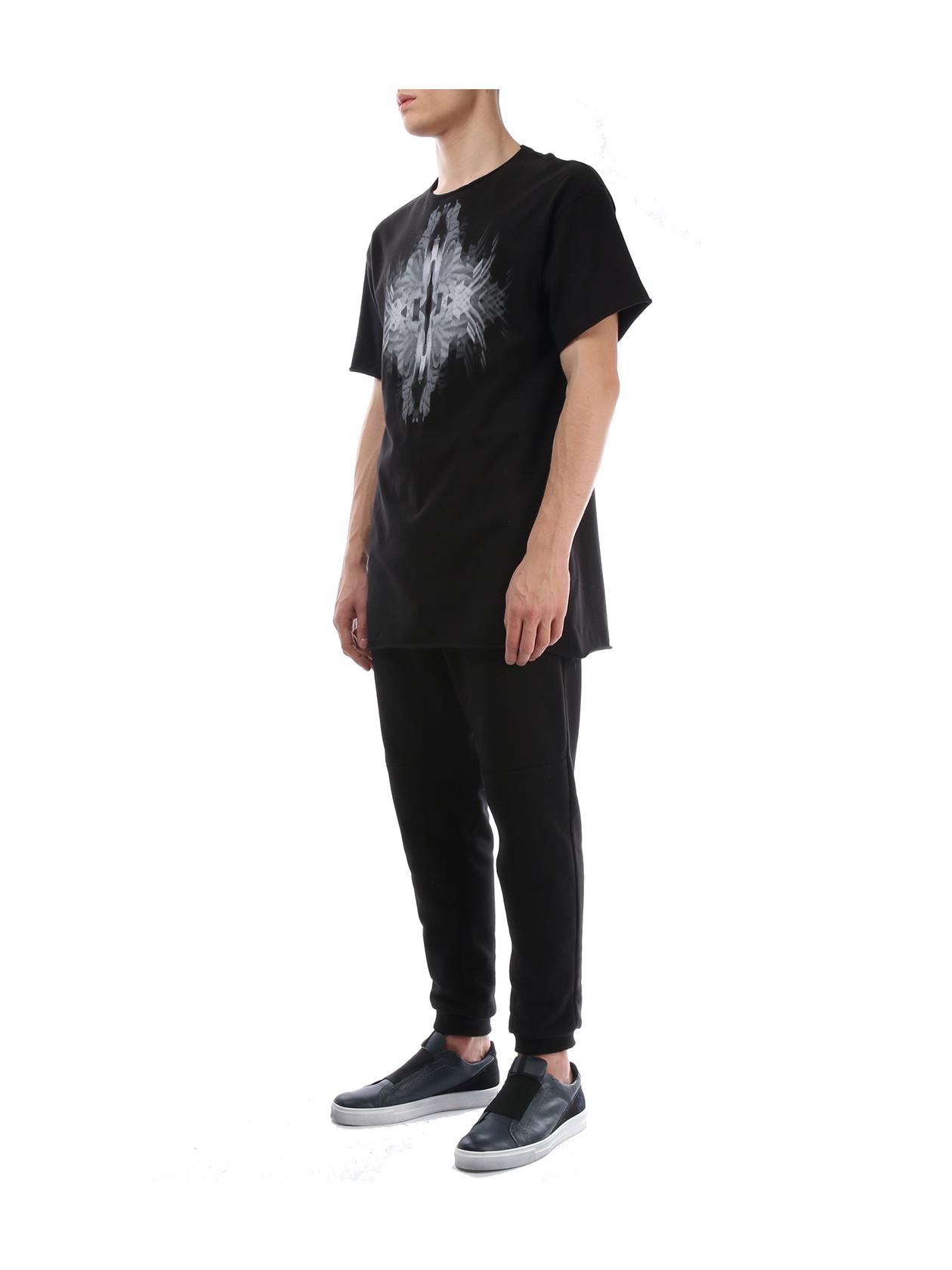 Mens t-shirt МИР от BlackStarWear INT
