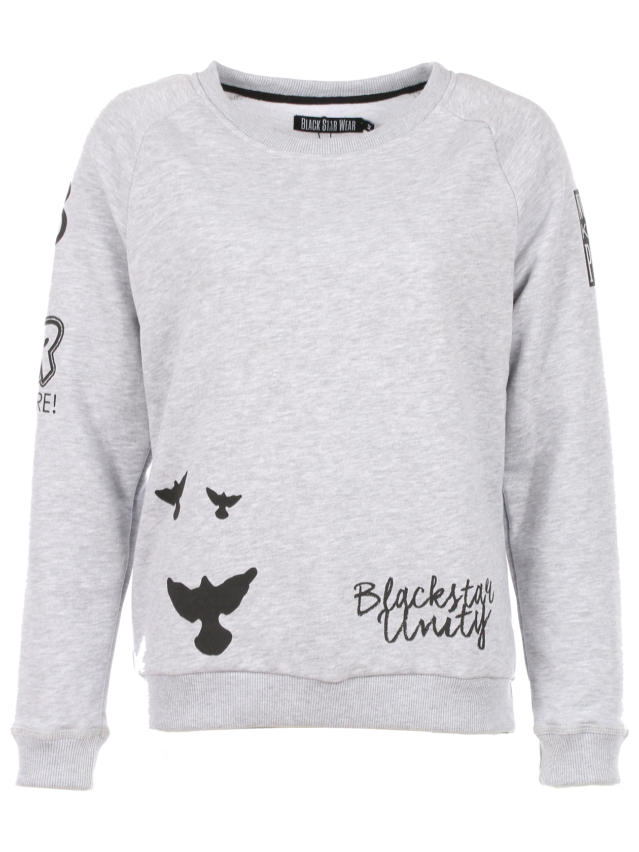 Womens sweatshirt Black Star Unity от BlackStarWear INT