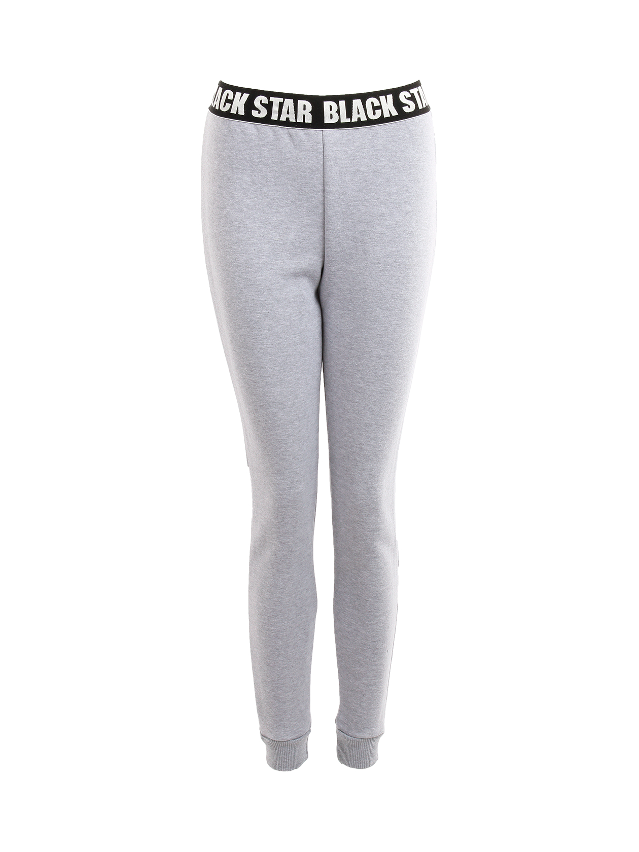 Womens Joggers BLACK + STAR 13Womens sweatpants by Black Star Wear. High waist with an elastic branded band. Soft touch cotton blend that keeps warmth in cold weather. Avaliable in black and gray.<br><br>size: XS<br>color: Grey<br>gender: female