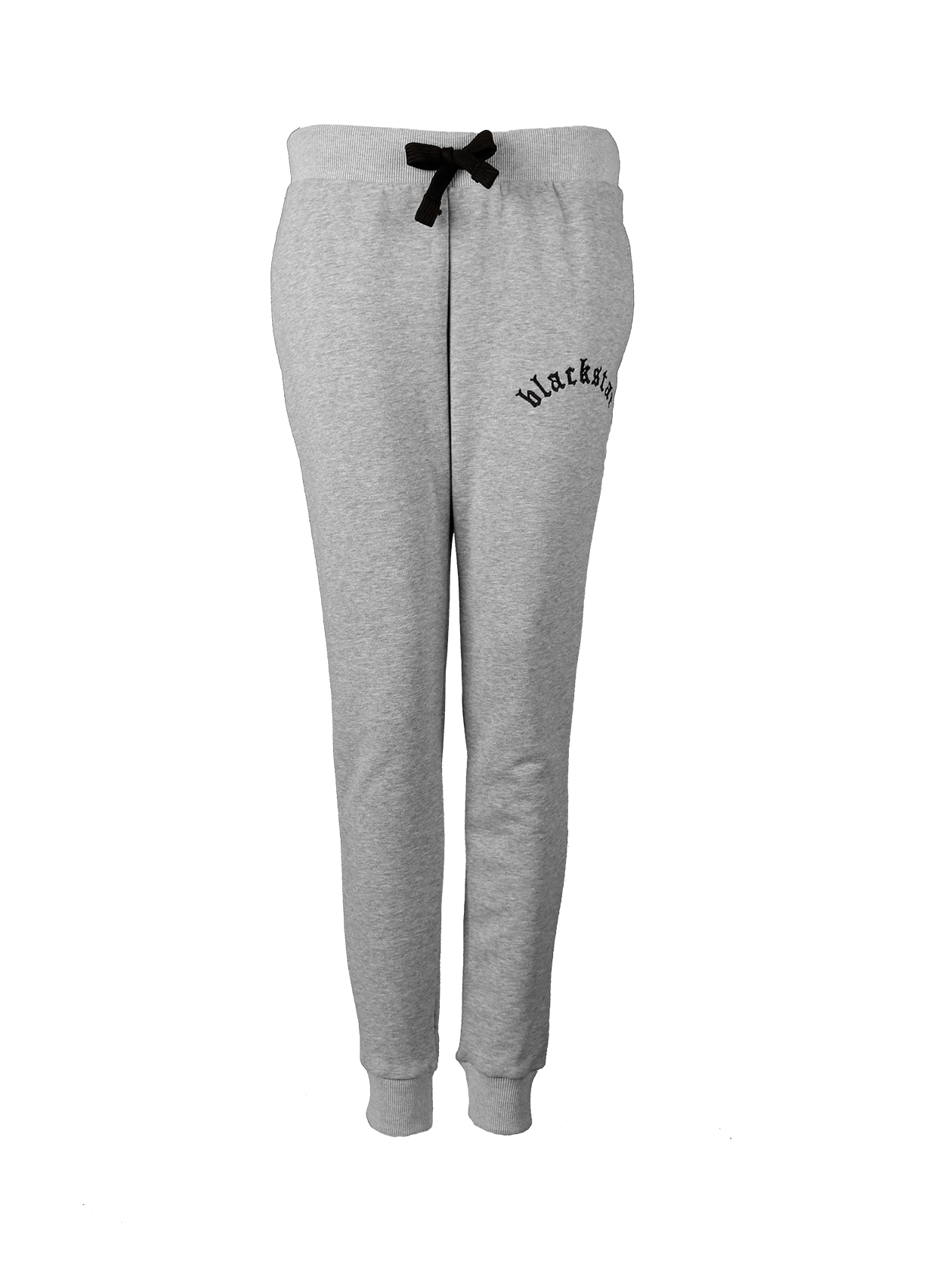 Womens sweatpants EssentialWomens sweatpants by Black Star Wear. Regular waist with an elastic band and lacing. Side pockets, blackstar embroidery on the left side. Soft touch cotton blend that keeps warmth in cold weather. Avaliable in black and gray.<br><br>size: L<br>color: Grey<br>gender: female