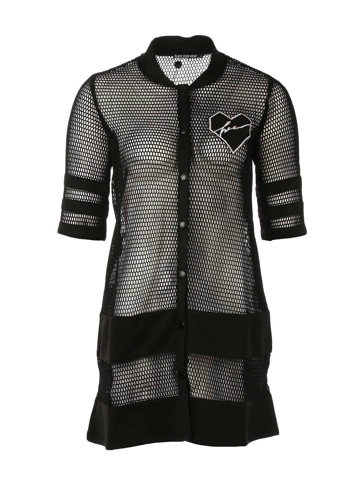 Cardigan Black heart
