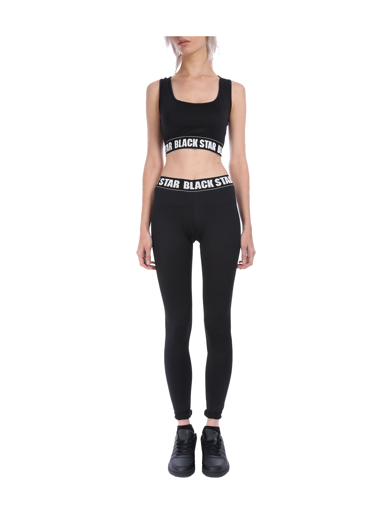 Womens tank top and leggings Black Star Sport от BlackStarWear INT