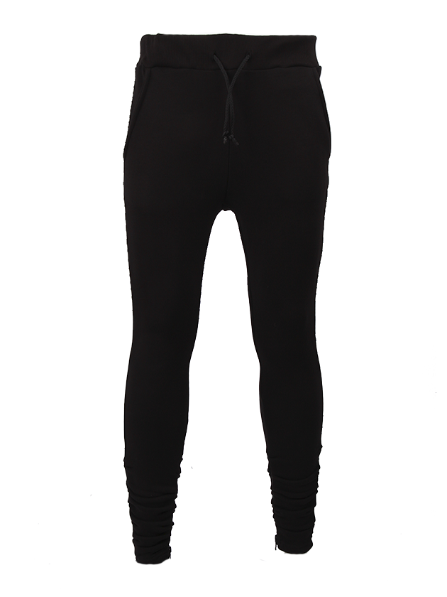Unisex Pants Black Star ZipMens joggers by Black Star Wear. Slim fit, elastic band on waiste, side pockets, zips, 100% natural cotton. Perfect for everyday and sport activities. Avaliable in khaki and black.<br><br>size: XS<br>color: Black<br>gender: female
